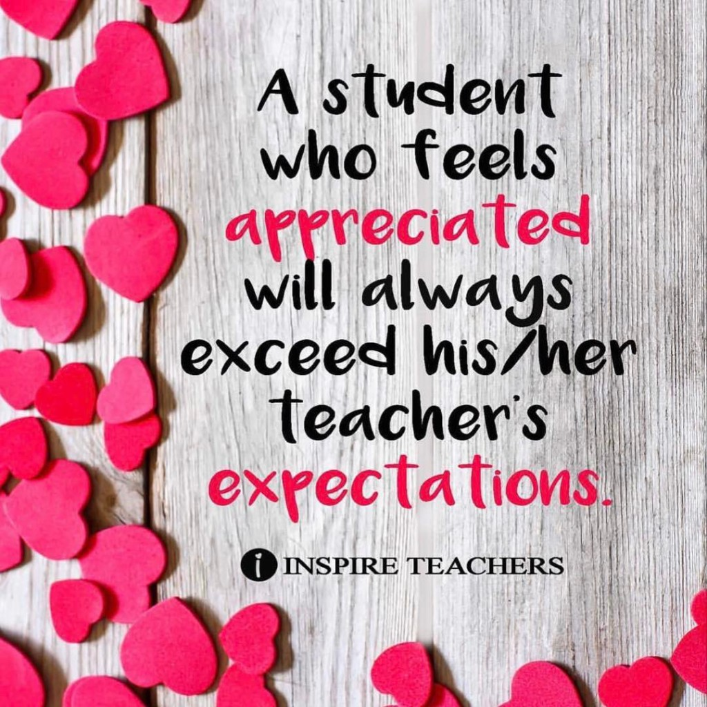 Double Tap if you make every student feel appreciated! hellip