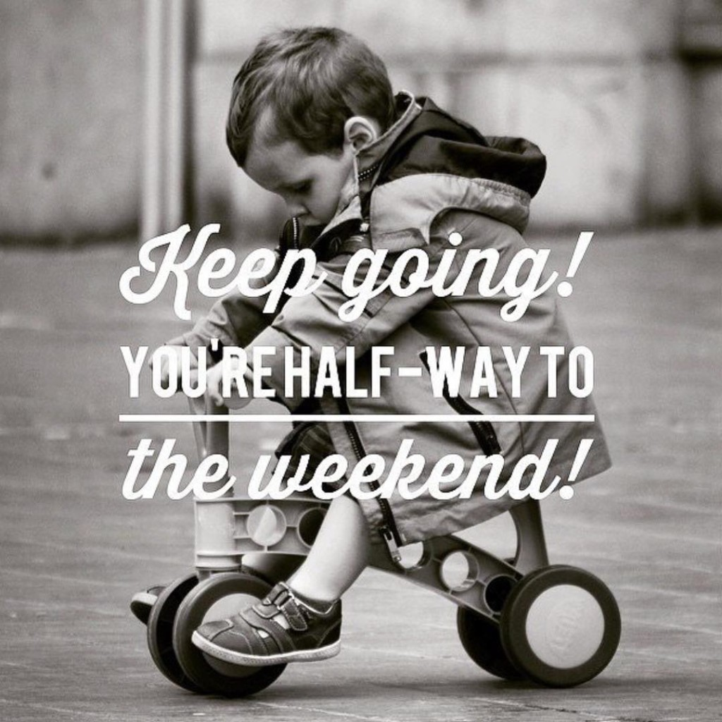 Keep Pushing!! The weekend is almost here!! Tag a teacherhellip