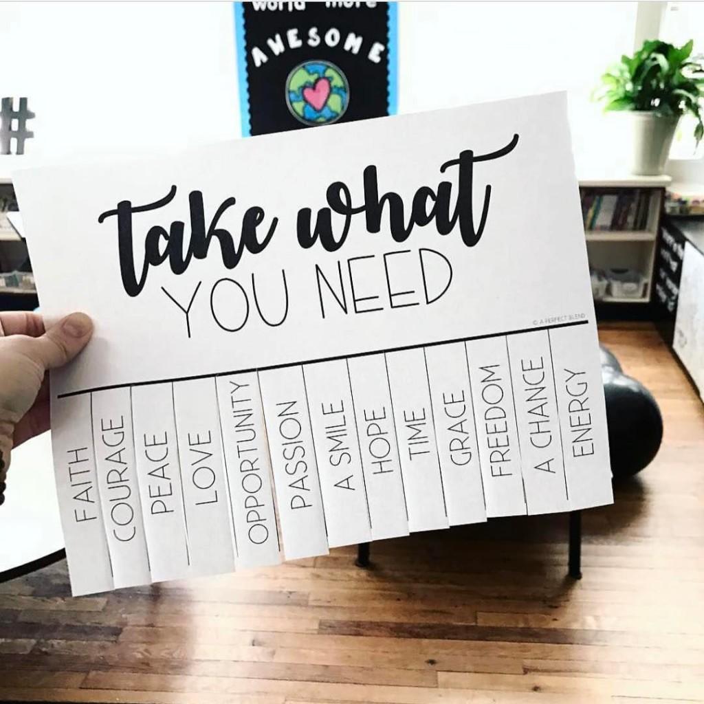 Take what you need lets spread kindness! AliveStudiosK12 3D teacherhellip