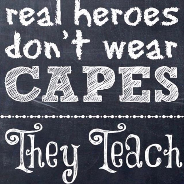 Our Heroes Teachers sacrifice a lot to change the liveshellip