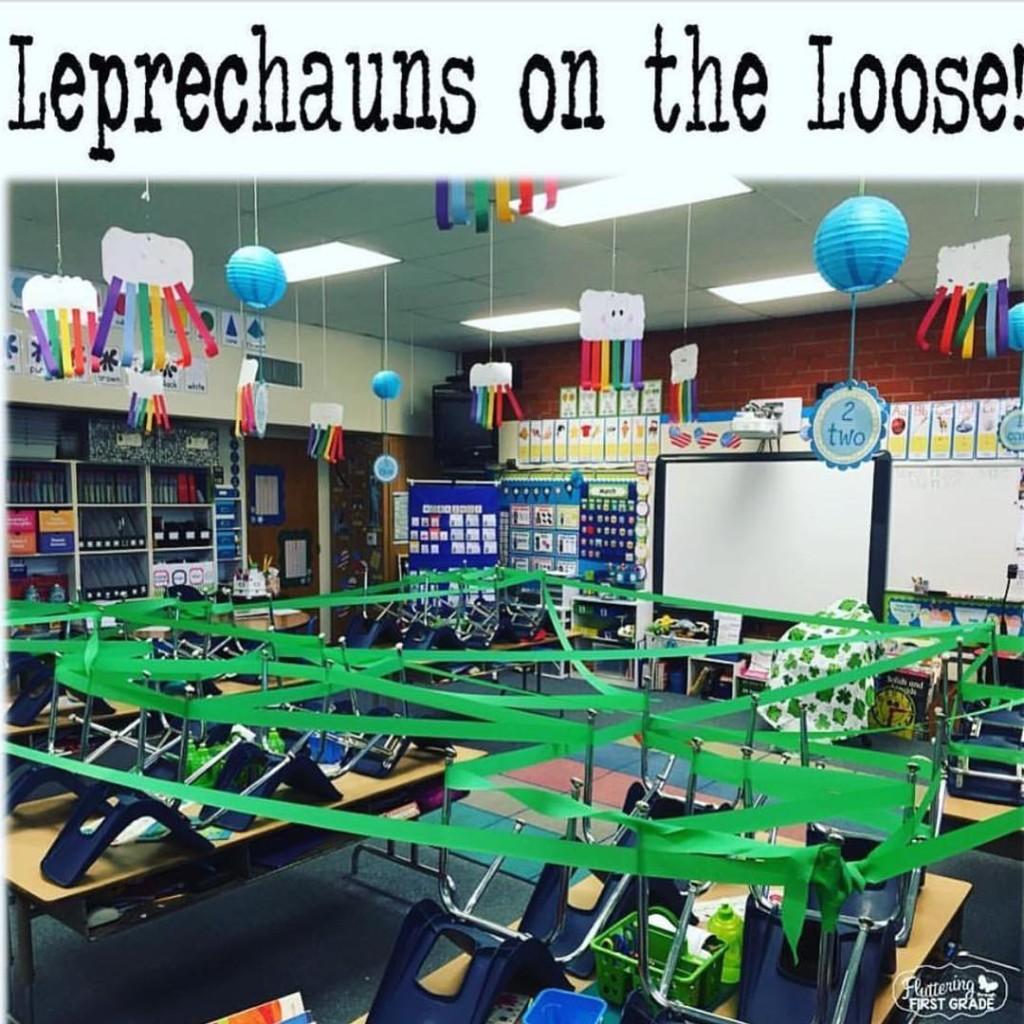 Leprechaun Fun Recreate this idea by fluttering1st via funinfirstblog!! Taghellip