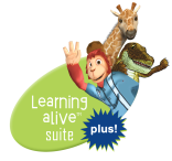 Learning alive Plus supplemental reading and math curriculum for early learners
