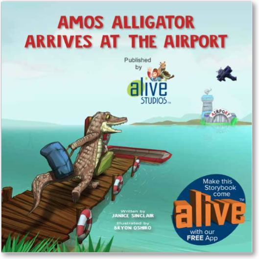 augmented reality storybook for children