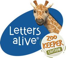 Letters alive Zoo Keeper
