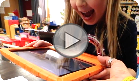 Learn ABC's activity book with augmented reality mobile app