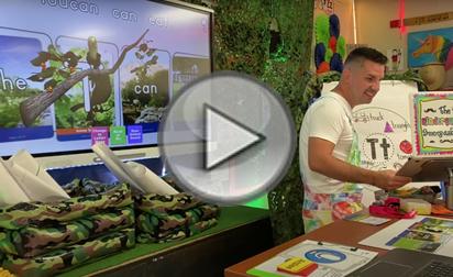virtual teaching for kindergarten