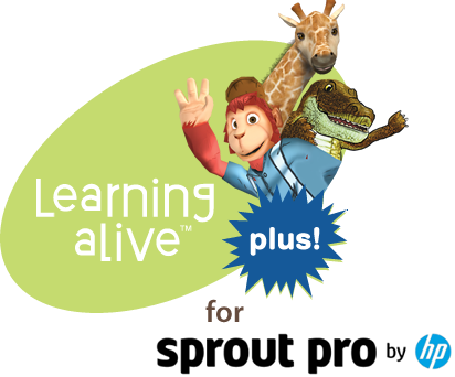 Learning alive reading and math for Sprout Pro by HP - Elementary STEM Program