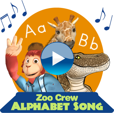 learn the alphabet song with animals