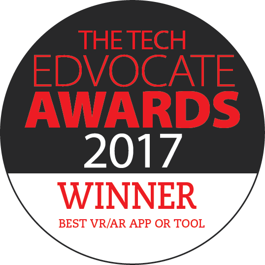 Edvocate Award Winner Best Augmented Reality app or tool