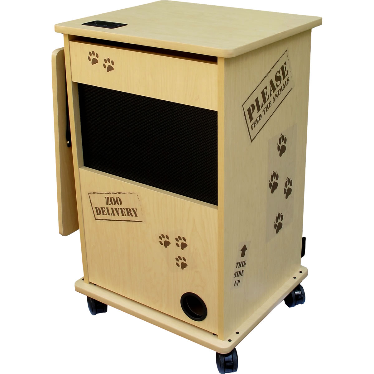 mobile lockable classroom cart