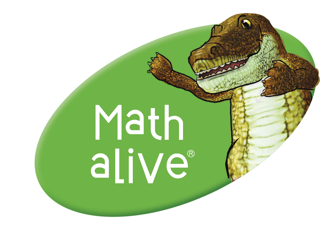 Math alive plus logo