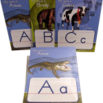 letters alive alphabet posters with samples