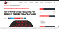 2017 Tech Edvocate Award Winner