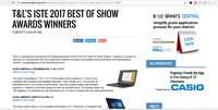 Tech & Learning - Best of Show ISTE