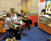ISTE Teachers watching augmented reality