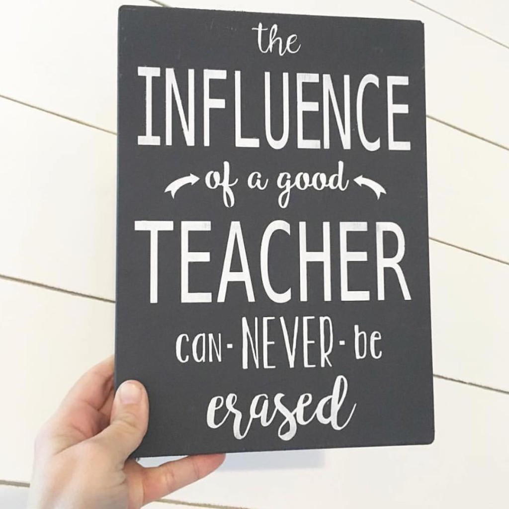 A great teacher will forever impact a childs life pchellip