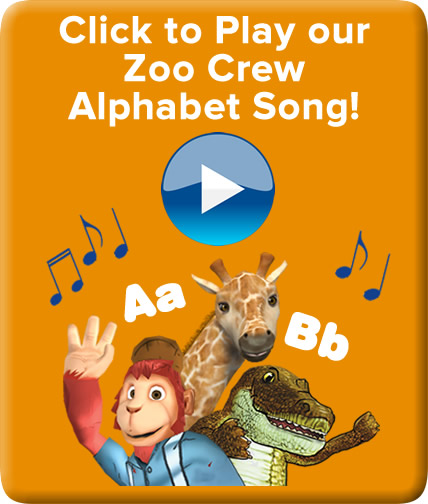 zoo crew alphabet song for learning letters