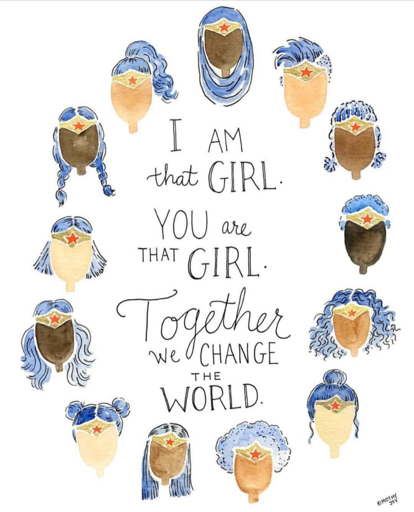 Together we can change the world! Happy internationaldayofthegirl a dayhellip