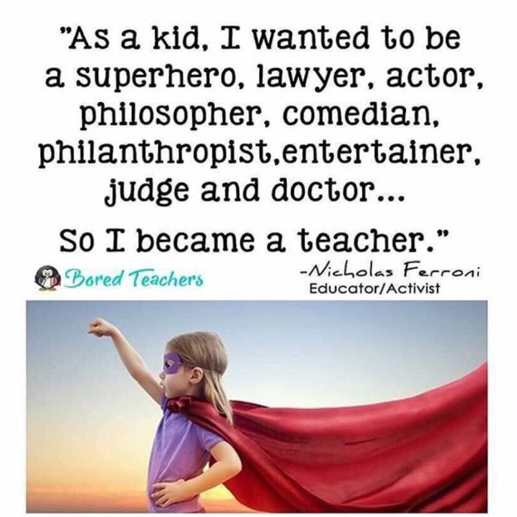 Tag a Teacher who is all of the above! AliveStudiosK12hellip