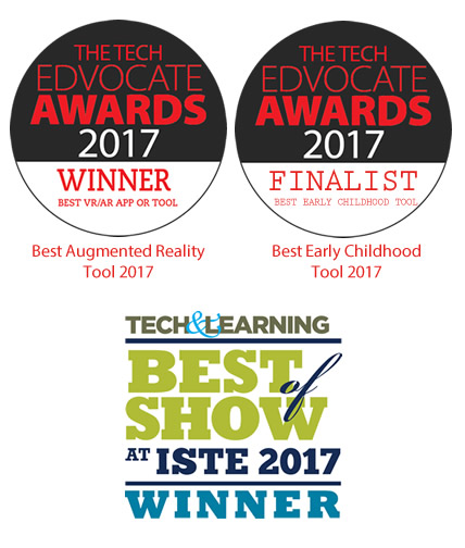 iste and edvocate awards best augmented reality