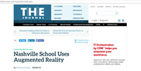 THE Journal: Nashville School Uses Augmented Reality