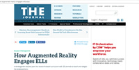 THE Journal: How Augmented Reality Engages ELLs