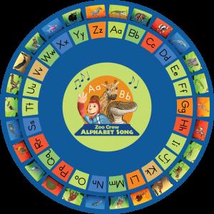 alphabet classroom rug round 750