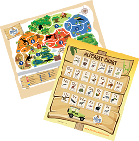 Zoo Keeper Letters - Alive Studios | Reading and Math