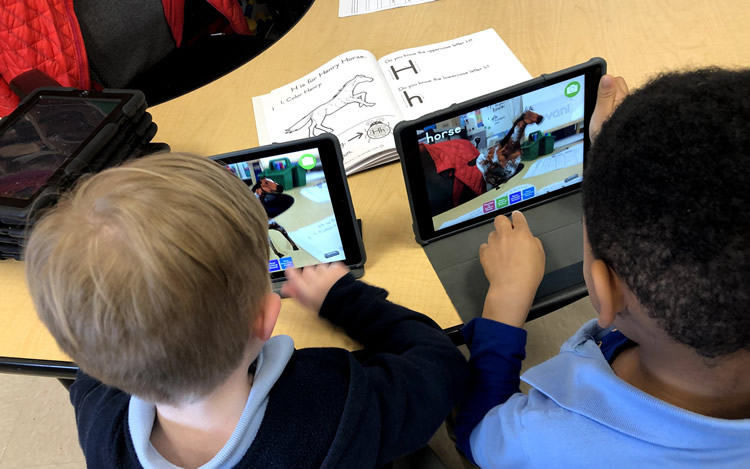 using technology to engage pre-k kids