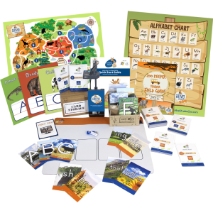 letters alive zoo keeper edition