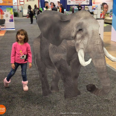 learn letters and numbers with augmented reality animals