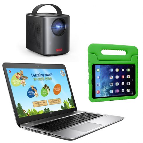 remote and classroom learning for kindergarten
