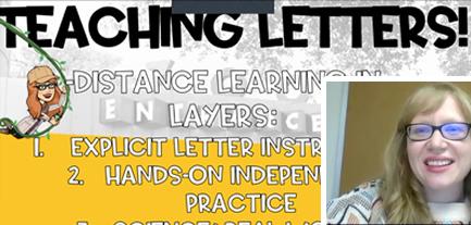 kindergarten teacher virtual summer camp