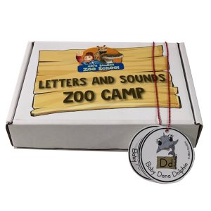 Letters and sounds zoo camp kit